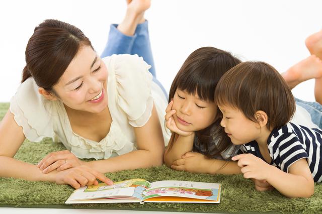 絵本の読み聞かせはコミュニケーション力を育てます