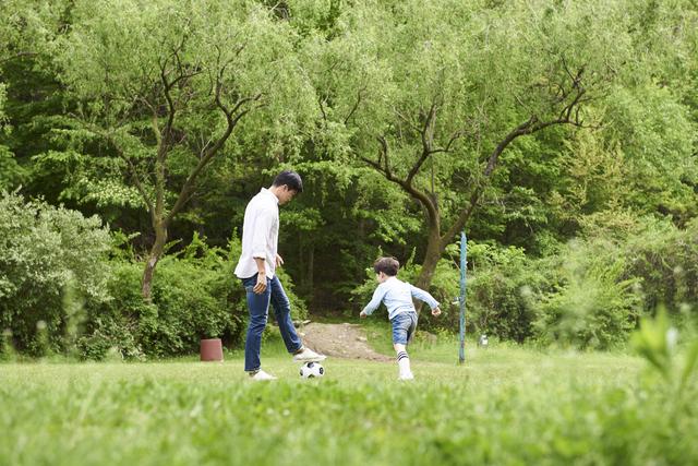 パパにも子どもと遊んでもらおう